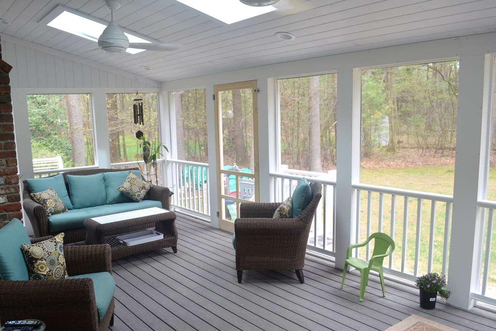 Sudbury Kitchen Addition Remodel With New Screened Porch Coffin Construction